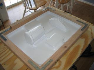 Stormtooper Tutorial - Creating Plaster Molds